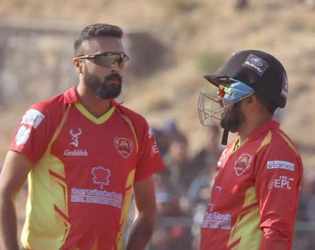Lalitpur Patriots in the qualifiers of Everest Premier League