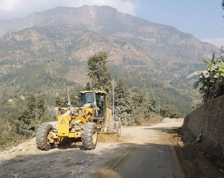 Contractor blamed for sluggish Lamosanghu-Jiri road improvement