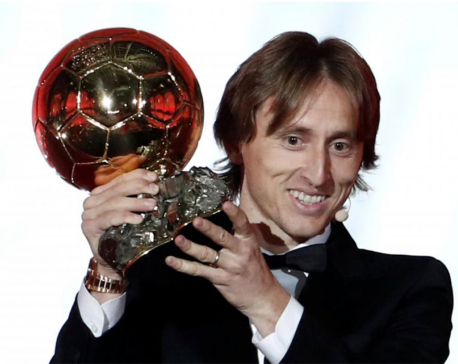 Modric criticizes Ballon d'Or gala snub by Messi, Ronaldo
