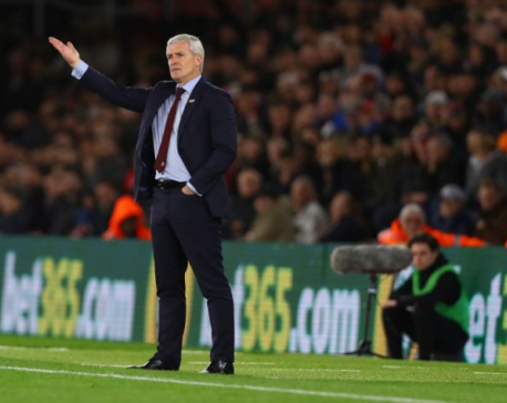 Southampton sack Hughes after eight months in charge