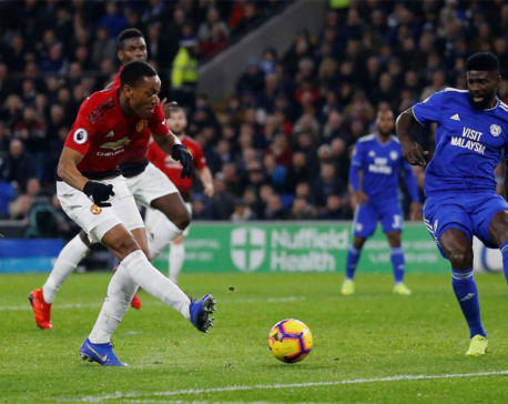 United rediscover their swagger but City are stunned