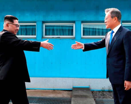 N. Korean leader calls for more talks with South in new year