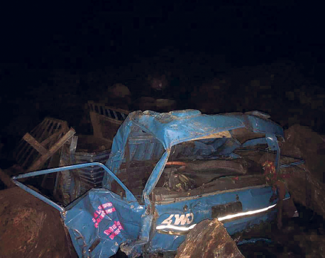 At least 17 die, others injured in Nuwakot mini-truck plunge