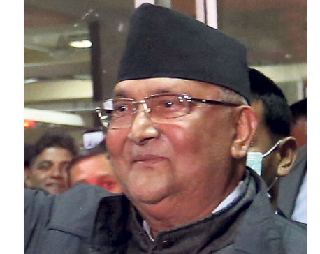 Economic prosperity of the country from workers' labor: PM Oli