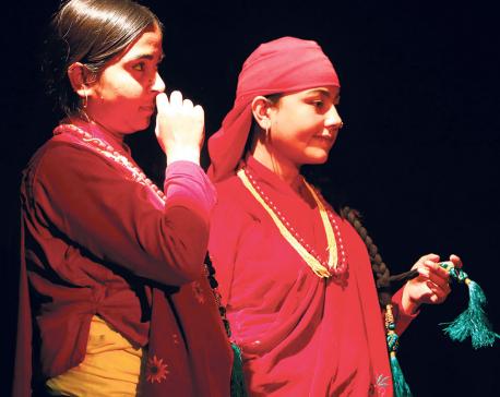 Reflections of Magar communities at Kunja