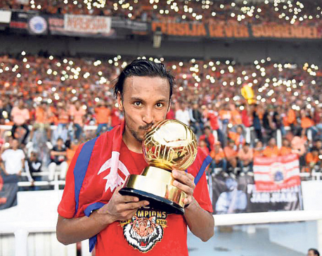 Rohit Chand wins 'most valuable player' helping Persija win Liga 1