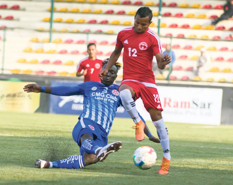 Sankata climbs to second after beating Police, second win for APF