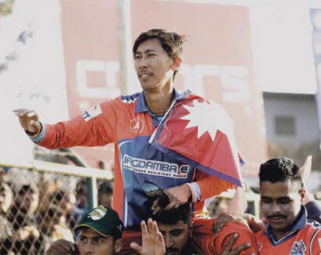Nepali cricket legend Gauchan bids farewell to all forms of cricket