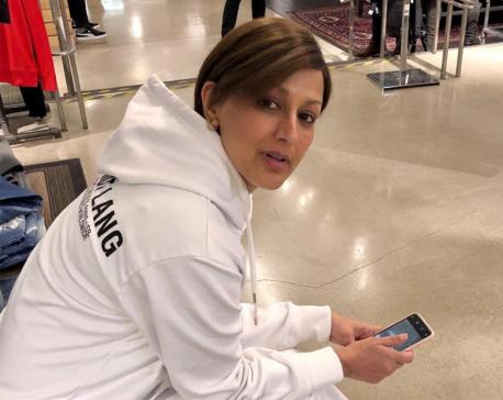 Sonali Bendre  all set to return home