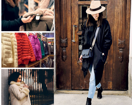 Styling a winter staple