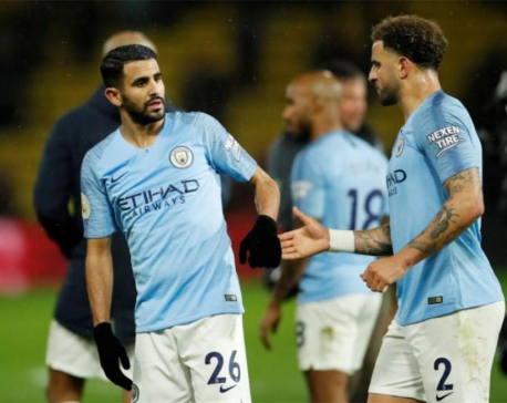 Mahrez pulls the strings as City extend lead at the top