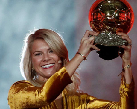 Hegerberg Ballon d'Or award tarnished by 'twerk' request