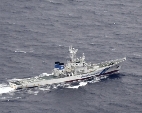 Six missing after U.S. military aircraft collide off Japan