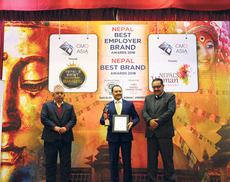 Annapurna Group of Hotels, its CEO Raju Shah awarded
