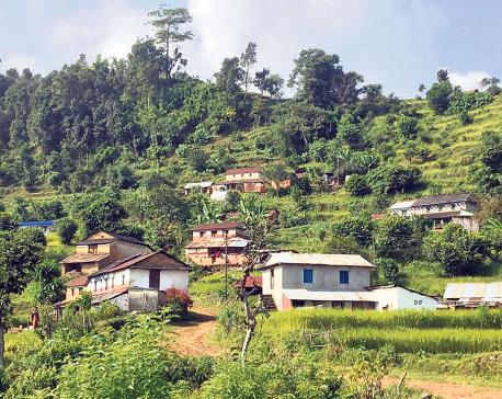 Chapakot Bamdi preparing to initiate homestay facilities