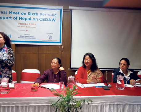 Enlightening press on Sixth Periodic Report of Nepal on CEDAW