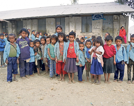 Most Chepang kids of this Dhading school want to become teachers