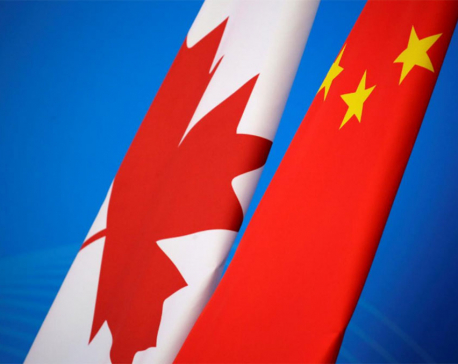 China accuses Britain, EU of hypocrisy over Canada detentions concerns