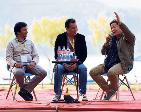 Glances of IME Nepal Literature Festival Press
