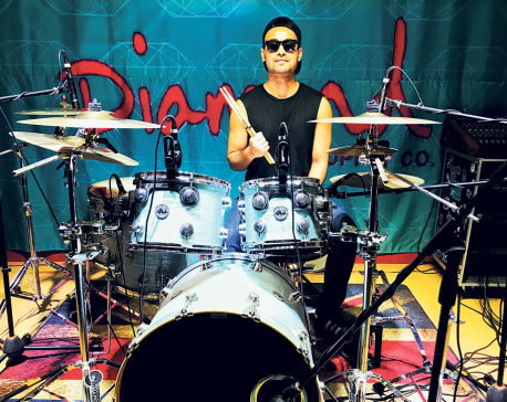 Drumming his way to success