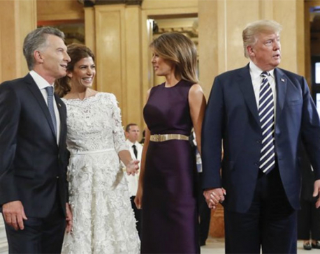 G-20 agrees on trade, migration, US goes own way on climate