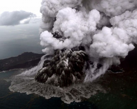 Indonesia reroutes all flights around erupting Anak Krakatau volcano