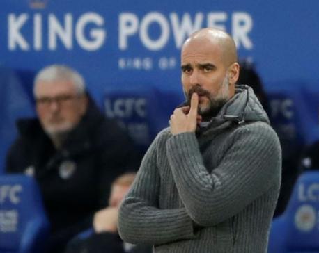 Man City face doubts about title challenge - Guardiola