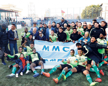 Manang clinches eighth A-Division League title with two games to spare