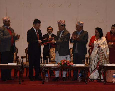 DPR agreement signed for monorail in Kathmandu