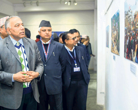 Rebuilding Nepal-Photo Exhibition Kicks off