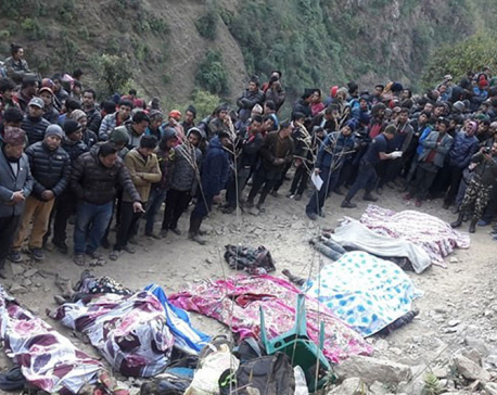 Death toll in Nuwakot mini-truck mishap reaches 20