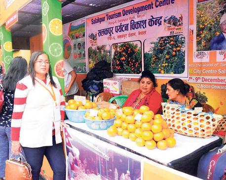 Nepali oranges on display at Kolkata exhibition