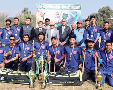 Paanch Pokhari wins Nepal-Pakistan Friendship T20 cricket tournament