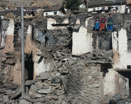 Kalikot fire victims left to shiver in the cold