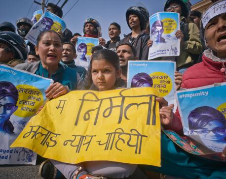 (In pics) Civil society demands justice for Nirmala