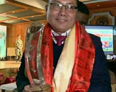 Bardiya's CDO Kurumbang bags Integrity Idol Nepal