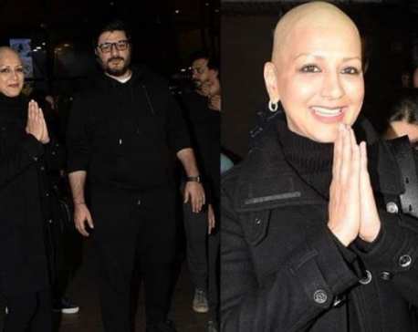 'Fight is not over yet but I am looking forward to this happy interval': Sonali Bendre