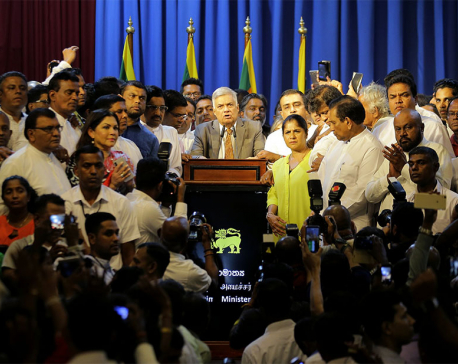 Sri Lankan president doubts he can work with reappointed PM
