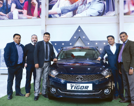 Tata Motors launches all-new Tata Tigor in Nepal