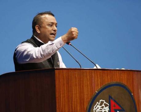 Gagan Thapa calls for withdrawal of civil servants ordinance