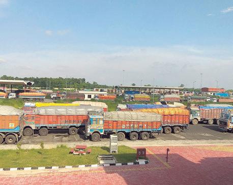 Trade activities gaining momentum at Birgunj ICP