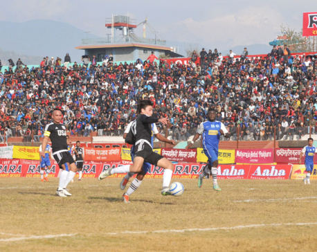 Karna hat-trick fires Jhapa to thumping win