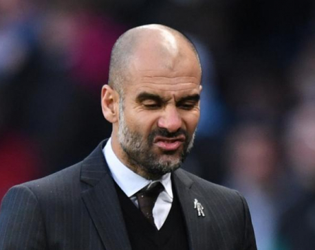 Grouchy Guardiola gets first taste of FA Cup