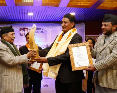 Gulmi principal named Integrity Idol winner