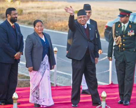 PM leaves for UAE on official visit