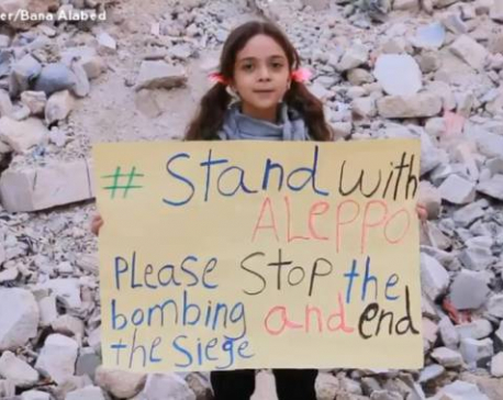 Syria's 7-year Twitter girl appeals to Trump