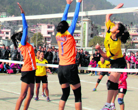APF, New Diamond eves  in volleyball final