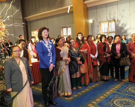 Chinese Embassy marks International Women's Day