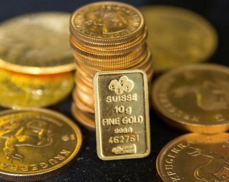 Gold price hits six year high