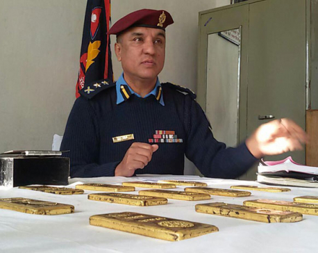 Man arrested with 15 kg gold